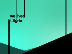 We lived in Syria
