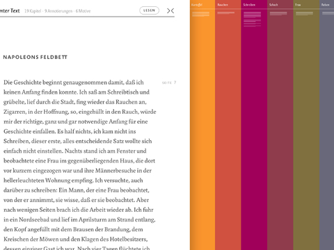 MODAL - Visualisierung literarischer Narrative